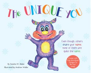 Sandra Baker - The Unique You - Children's Book