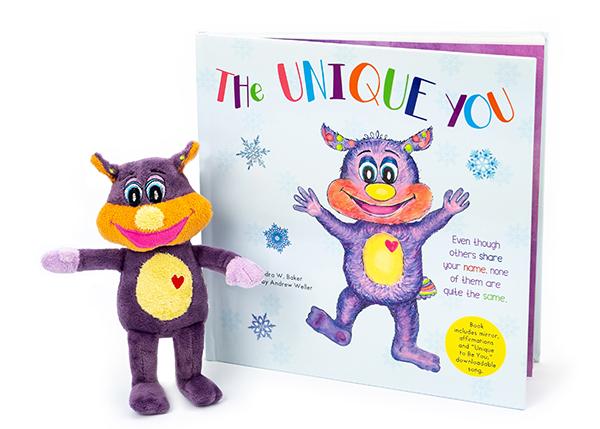 The Unique You Children's Book Puppet
